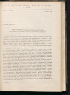 Testament Bolesława Krzywoustego w polskiej historiografii średniowiecznej