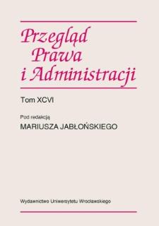 Między aksjologią a ontologią dyskursu konstytucyjnego. Obiektywizacja wartości w prawie