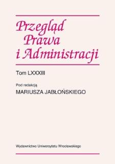 Administracyjno-prawne aspekty wdrażania funduszy strukturalnych