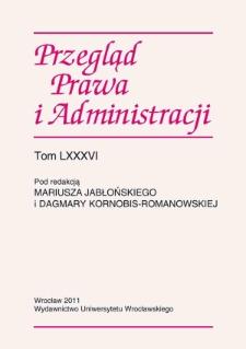 """Recenzja: Wacław Uruszczak, """"Historia państwa i prawa polskiego"""", t. 1 """"966–1795"""", Warszawa 2010"""