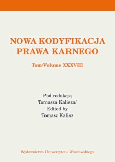About basic terms regarding judicial sentences. Remarks in the context of the Polish Penal Code