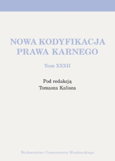 The nature of the legal obligation of remedy — remarks on the margin of a monograph Remedying of Harm Resulting from Crime Warsaw 2010