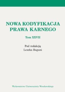 Dozór elektroniczny. Zagadnienia ogólne i kilka uwag dotyczących jego wdrożenia do polskiego ustawodawstwa karnego