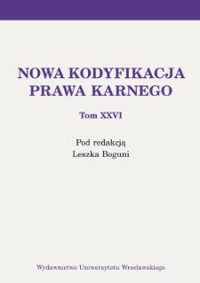 Recydywa penitencjarna. Analiza dogmatyczno-historyczna regulacji prawnych w latach 1918–1969