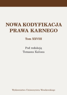 Transformations in the approach to restraining measures in Polish criminal law