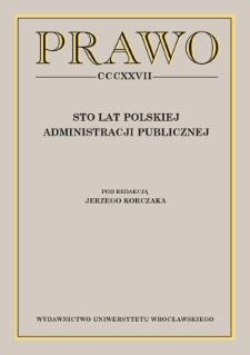 Centenary of Polish civil service law