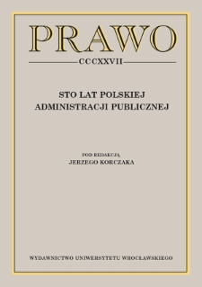 On certain philosophical categories in the administrative and legal output of professor Jan Boć