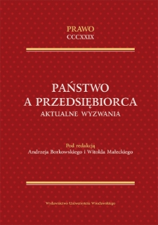Antitrust law and the policy of supportingthe development of small and medium enterprises