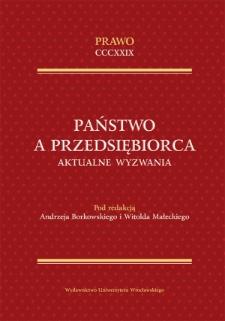 """Nadzór nad wyrobami podlegającymi dyrektywom """"nowego podejścia"""" w Polsce — kilka refleksji o koordynacji działań organów nadzoru"""