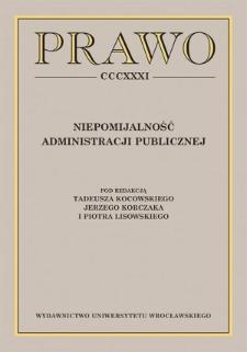 Sprawozdanie z Dolnośląsko-Saksońskiego Spotkania Administratywistów (Wrocław, 29–30 listopada 2019 roku)