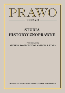 Właściwość sądów w sprawach karnych w Polsce w latach 1928–1939