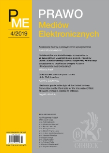 Open access from the point of view of the Polish author