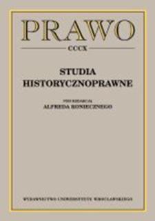 Stany szczególne i sądy specjalne w Wielkopolsce w pierwszych latach po I wojnie światowej