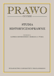 Prawo jako czynnik integracji państwa w latach II Rzeczypospolitej