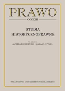 Konstrukcja recydywy w polskim kodeksie karnym z 1932 roku