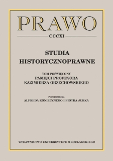 Ostatnie prace Stanisława Kutrzeby w Polskiej Akademii Umiejętności