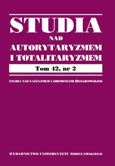 Criminalization of the promotion of totalitarianism (fascism) in the Polish Penal Code