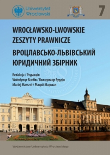 Formation and development of Civil Law and Procedure at the Faculty of Law of the University of Lviv