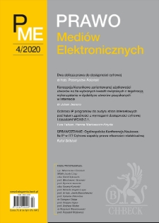 Sprawozdanie: Ogólnopolska Konferencja Naukowa: Ile IP w IT? Cyfrowe aspekty prawa własności intelektualnej