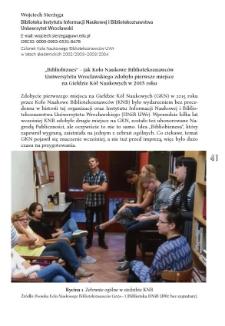 """""""Bibliobiznes"""" – jak Koło Naukowe Bibliotekoznawców Uniwersytetu Wrocławskiego zdobyło pierwsze miejsce na Giełdzie Kół Naukowych w 2015 roku"""