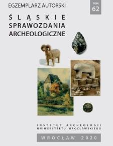 Neolityczne przedmioty kamienne z przedwojennych badań wykopaliskowych na stanowisku nr 5 w Jordanowie Śląskim