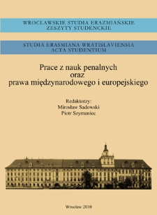 Aresztowanie i dostarczenie osoby Międzynarodowemu Trybunałowi Karnemu - ekstradycja? : problem nowelizacji Konstytucji Rzeczypospolitej Polskiej w związku z ratyfikacją Statutu rzymskiego MTK