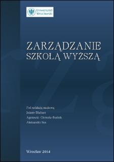 Zarządzanie (kierowanie) kościelną szkołą wyższą. Na kanwie działalności Papieskiego Wydziału Teologicznego we Wrocławiu