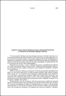 Miejsce i rola badań regionalnych i specjalistycznych w dydaktyce historii ustroju i prawa