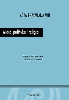 Wiara, polityka i religia - Wstęp