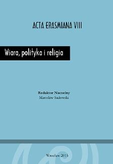 Doktryny religijne a stanowienie prawa w dobie światopoglądowego pluralizmu