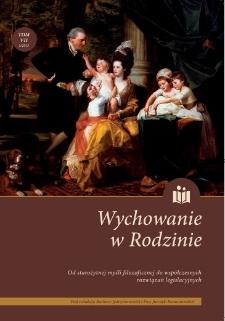 Rodzina w egzystencjalnym paradygmacie Dziennika Pisarza Fiodora M. Dostojewskiego