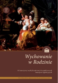 Functions of the Family – A Study Based on Women's and Family Magazines of the Kingdom of Poland Published Between 1864 and 1914