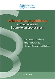 Determinanty realizacji oczekiwań społecznych w zakresie planowania i zagospodarowania przestrzennego w gminach