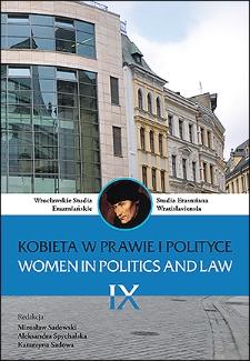 Wpływ myśli feministycznej na zmiany współczesnego prawa - szkic problemu