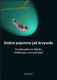 """Recenzja książki J. Mazurkiewicza """"Zanim pomysły nasze sczezną wraz z nami. Wrocławskie projekty ochrony prawnej dzieci i kobiet"""""""