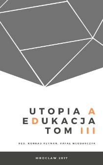 The Utopia of war, or the good that brings it down, and the education that serves it