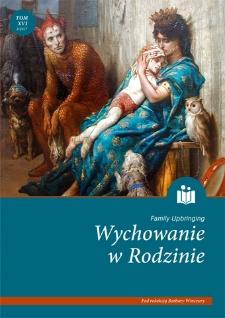 Wychowanie w Rodzinie, T. 16 (2/2017). Wprowadzenie