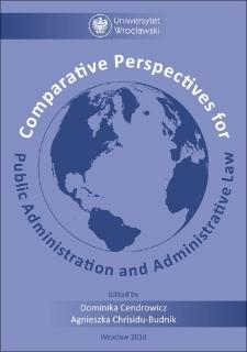 Państwo administracyjne wperspektywie porównawczej