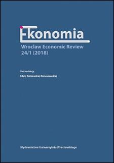 Ekonomia — Wroclaw Economic Review - Strony redakcyjne i spis treści