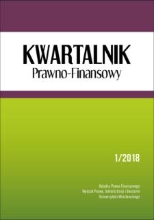 Zasady ogólne prawa podatkowego (próba inwentaryzacji)