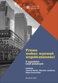 The amendment of the Executive Penal Code in range of article 100 – a display of effective fight with the problems of current polish penitentiary system or step backward on the road to complete implementation of international standards?