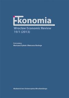 Konkurencyjność przedsiębiorstw ukierunkowanych na zrównoważony rozwój w warunkach kryzysu gospodarczego