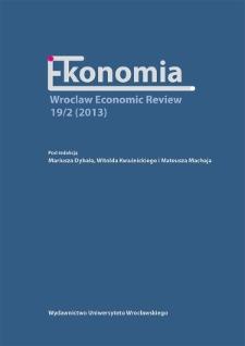 Między monetaryzmem a gospodarką regulowaną : wpływ światowego kryzysu na rynkach finansowych (2008–2009) na modernizację liberalnych teorii rozwoju gospodarczego