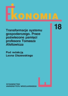 An analysis of sources of financing public and non-public higher education in Poland in 2004–2009