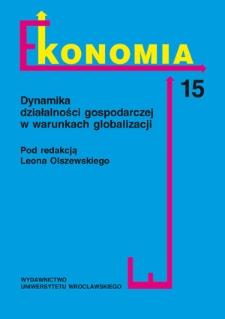 Ekonomia - Strony redakcyjne i spis treści