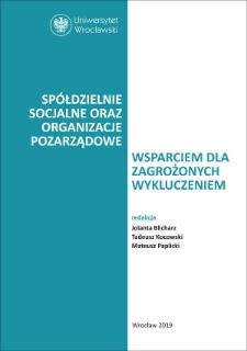 Aktywizacja zawodowa cudzoziemców na przykładzie spółdzielni socjalnej – analiza wybranych uregulowań prawnych